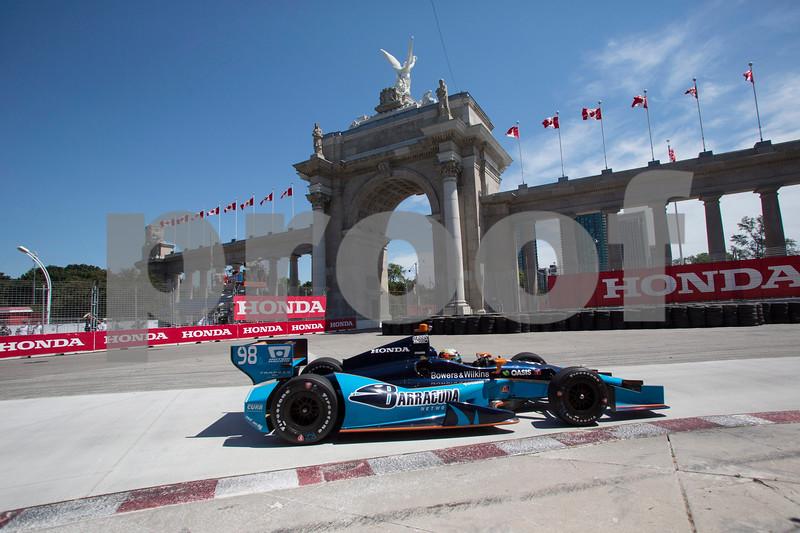 IndyCar Honda Indy Toronto Auto Racing