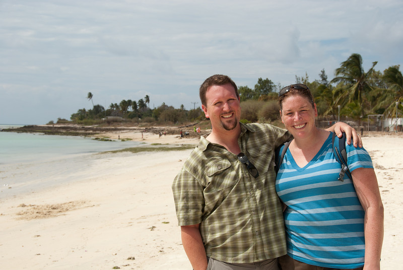 """<span id=""""title"""">Photo on the Beach</span> A lovely photo of Ann and I on the beach, until..."""