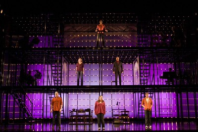 "The national touring production of ""Next to Normal."" Photo by Craig Schwartz."