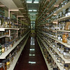 Specimen jars, full of ex-sea critters.  One of the largest collections in the world, it goes on and on and on...