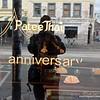 Patee Thai anniversary restaurant window in Fitzroy, Melbourne in November 2016