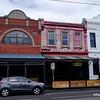 Brunswick street streetscape in Fitzroy, Melbourne in November 2016