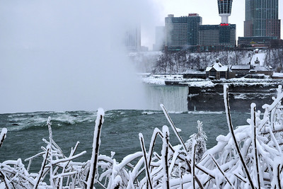 Niagara Falls from the American side