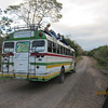 Travel by bus is the most common way to get around.  We were able to use the ecolodge van, however!