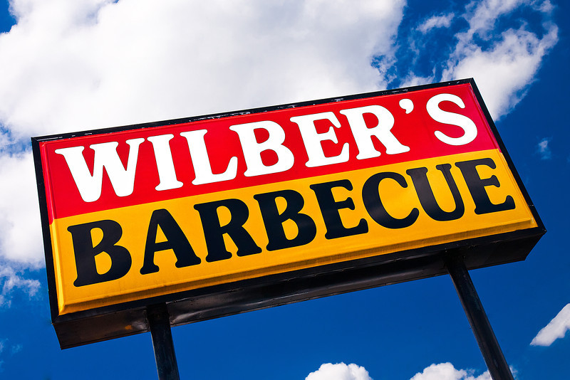 123/365 - May 7, 2012 - Wilber's <br /> <br /> On our first day of vacation on our way to Atlantic Beach, NC, we made our customary stop at one of the great Eastern North Carolina barbecue joints, Wilber's Barbecue.  Wilber's is located in Goldsboro, which is about an hour southeast of Raleigh.  This is mine and Lisa's fourth trip to Atlantic Beach, and every time we make sure we stop at Wilber's on the way in to enjoy some delicious Eastern North Carolina barbecue.  If you haven't tried this style, it's a must.