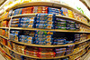 P14.8 Familiar brands on store shelf<br /> Choice 5 of 9<br /> <br /> A display of  Kraft Nabisco Oreo and Chip Ahoy! Cookies in a grocery store. Warren Buffett's holding company, Berkshire Hathaway has purchased a small stake in Kraft Foods. (© Richard B. Levine) (Newscom TagID: lrphotos031891) [Photo via Newscom]