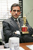 """P10.10 / Employee Awards.   <br /> I contacted HP, Maritz, Kinkos and Lotus for photos.  Still waiting on a response.  Here are some other options to consider.<br /> <br /> Choice 1 of 3 / Steve Catrell from the Office--with his """"Dundie""""---Michael Scott (Steve Carell) is the only person who looks forward to """"The Dundies"""", his annual award. <br /> THE OFFICE -- """"The Dundies"""" Episode 1 -- Aired 09/20/2005 -- Pictured: Steve Carell as Michael Scott -- Photo by: Justin Lubin/NBCU Photo Bank"""