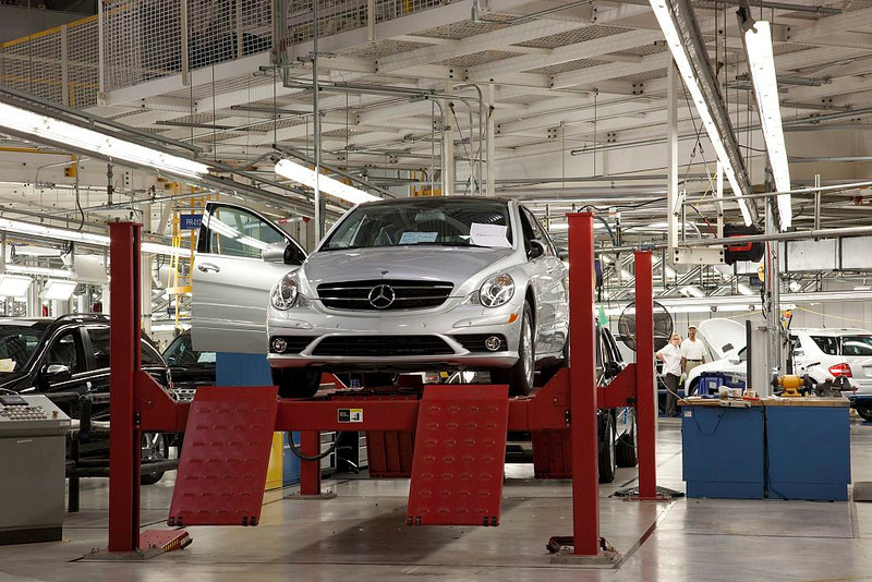 P3.8 / Mercedes plant in Tuscaloosa Albama<br /> <br /> Choice 6 of 11