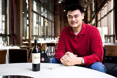P3.9 / Yao Ming with his wine / Yao Ming Family Winery<br /> <br /> Choice 4 of 8