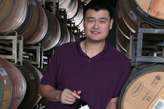 P3.9 / Yao Ming with his wine / Yao Ming Family Winery<br /> <br /> Choice 7 of 8