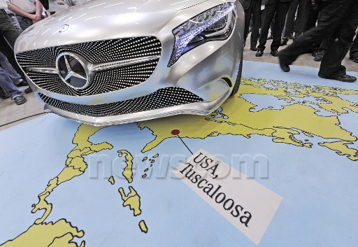 P3.8 / Mercedes plant in Tuscaloosa Albama<br /> <br /> Choice 1 of 11