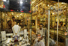 P1.6: Small business in India / to replace photo on page 13 of 9th edition<br /> Choice 7 of 12<br /> <br /> 16 May 2008, Kolkata, India. --- A gold jewelry store in Kolkota --- Image by © Randy Olson/National Geographic Society/Corbis