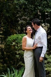 Nicole and Dean's bride/groom portraits.