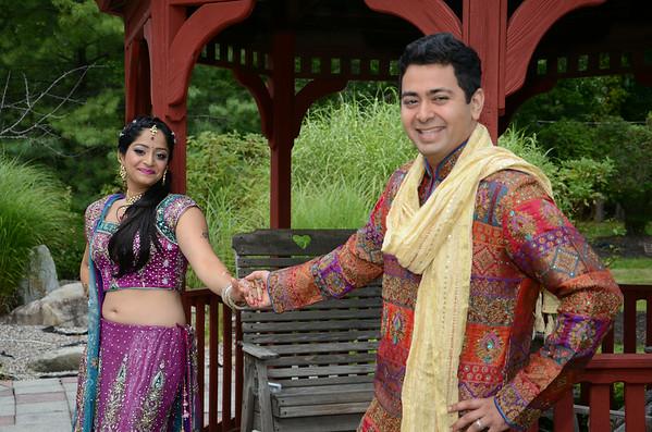 08.16.2014 Nidhi &  Rohan (Garba)