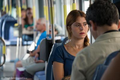 Jerusalem Light Train Morning