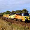 70806 6m50 0755 Westbury to Bescot passing Hawkeridge Jn 19 aug