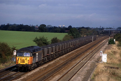 56110 assume tyne dock to eggborough or drax working pass colton junc 8 october 1999