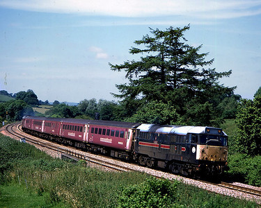 31459 on 2z41 1135 taunton to swindon passing cole 22 june
