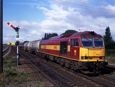 60024 passing barnetby on empty oil heading for lindsey 27 july