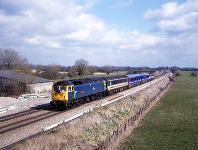 47840 5z77 1030 old oak common to laira passing shrivenham 17 march