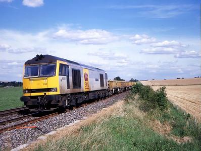 60055 7v41 eastleigh to westbury pass stockton 9 aug