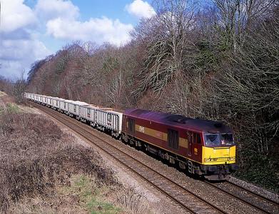 60096 6o48 merehead to hamworthy pass norton bavant 7 march