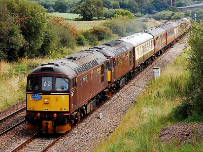 33207 33025 1z33 0558 crewe to weymouth pass whitham 23 aug 2008