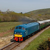 46045 1020 Norden to Swanage pass Corfe Common 6 May 2016