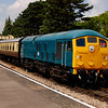 5081 2L68 1250 cheltenham to laverton at winchcombe station just before being kicked off still with my coffee in my hand 25 july