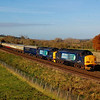 37261 37405 1z42 0601 whitchurch to portsmouth habour passing the gallery at little langford 30 nov