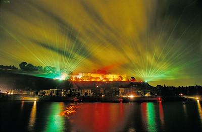 Fireworks in Namur - Feu d'artifice à Namur