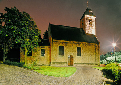 Church by Night - La Petite Eglise