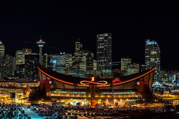 Saddledome - Flames home arena.