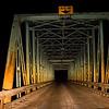 SingleVvehicle Bridge East of Okotoks.