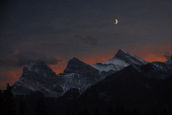 Three Sisters -  Canmore Alberta
