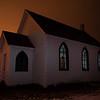 Davisburg Church with Calgary in Background