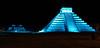El Castillo, Chichen Itza at night