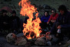 Gathering around the campfire