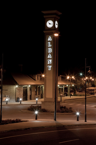 Train Station, Albany, Oregon