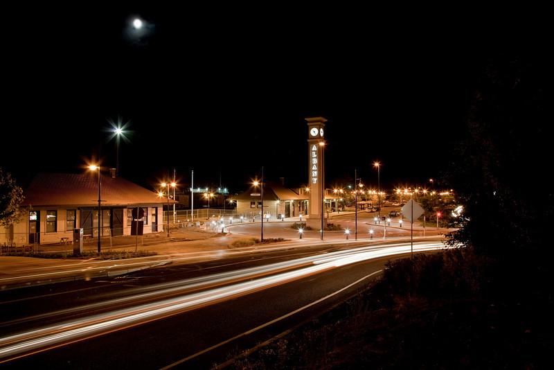 Train Station, Albany, Oregon