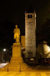 Aleardo Aleardi Statue