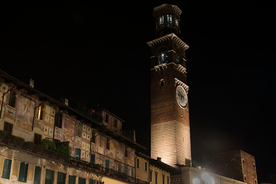 Clock Tower in Verona