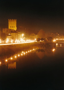 Arno River Reflections 1