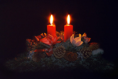 Christmas Candles 1982