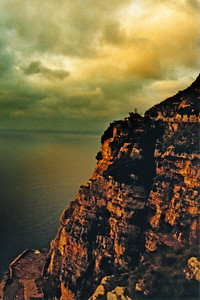 Cliff Near Naples at Dusk