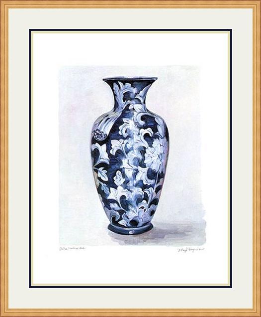 Ultramarine-vase