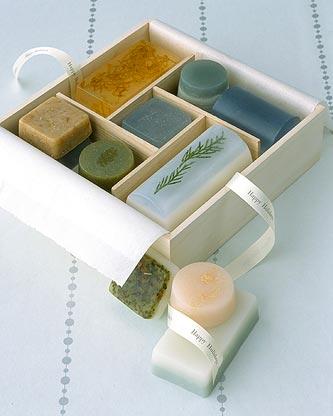 Ultramarine-soap