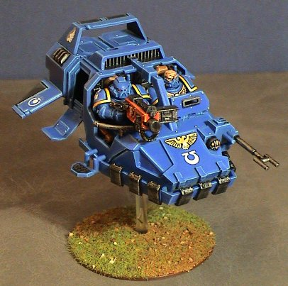 Ultramarnine-land-speeders