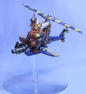 Ultramarine-Gyrocopter