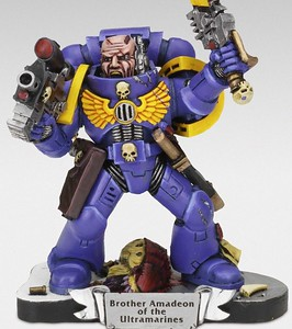 Ultramarine on nigritude stand